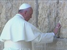 Papa Francisco visita Jerusalém no seu último dia na Terra Santa