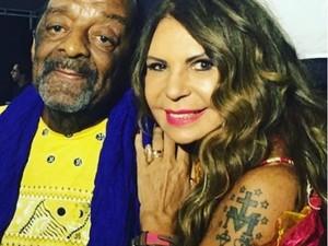 Cantora Elba Ramalho lamentou morte de Naná nas redes sociais (Foto: Reprodução/Instagram/Elba Ramalho)