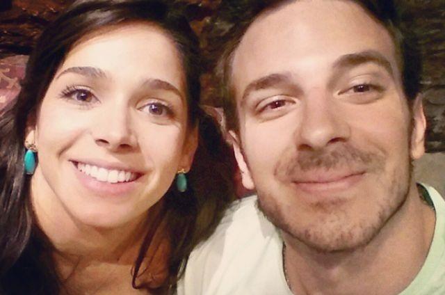 Sabrina Petraglia e o namorado, Ramon (Foto: Reprodução)