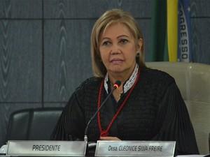 Desembargadora Cleonice Freire, presidente do Tribunal de Justiça do Maranhão (Foto: Secom/Ribamar Pinheiro)