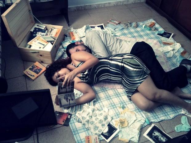 Filme conta história de casal e a maneira como os dois encaram as constantes gravidezes da esposa (Foto: Divulgação/Rafael Ramos)