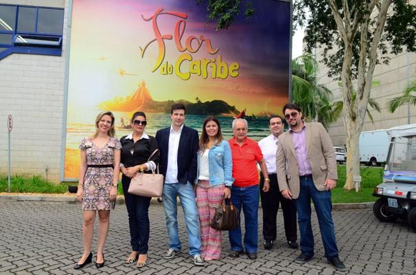 Anunciantes e clientes da TV Clube visisitam o Projac (Foto: Kiko Cabral)