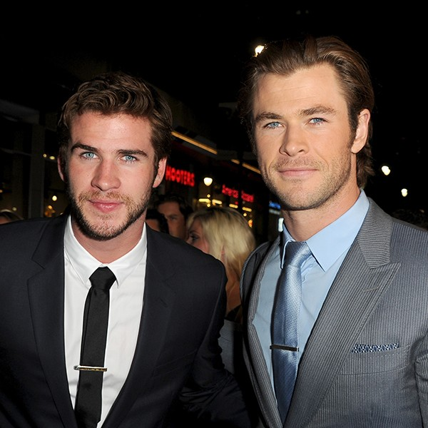 Liam e Chris Hemsworth (Foto: Getty Images)