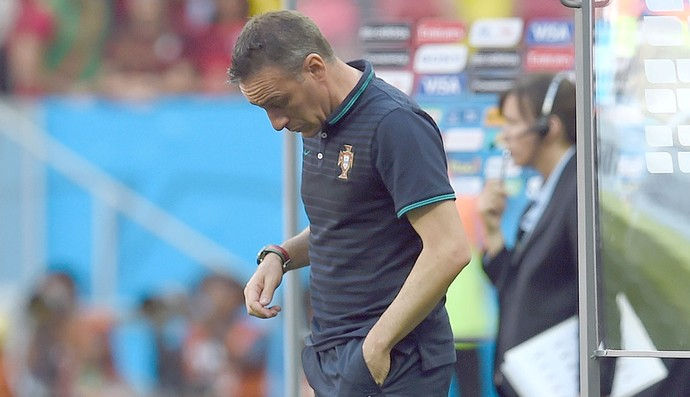 Paulo Bento jogo Portugal e Gana (Foto: AP)