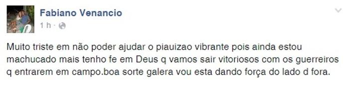 Fabiano, print facebook (Foto: Reprodução/Facebook)