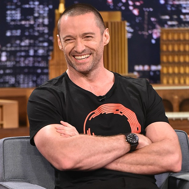 Para encarnar o Wolverine, Hugh Jackman malhou de uma a duas horas por dia, seis dias por semana, durante dois anos! Atualmente o musculoso ator está com 46 anos de idade. (Foto: Getty Images)