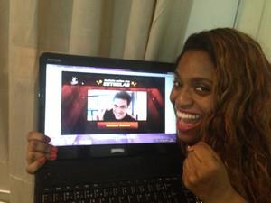 torcida ludmillah anjos (Foto: The Voice Brasil/TV Globo)