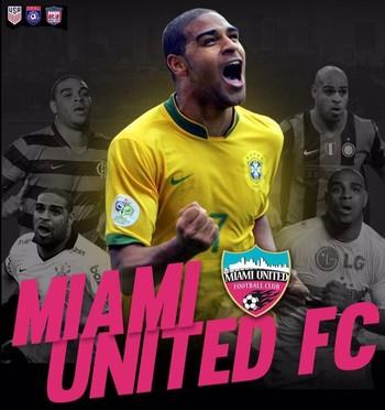 Adriano Miami United (Foto: Divulgação)