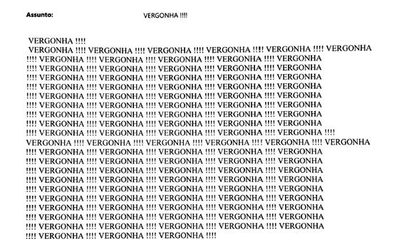 Mensagens contra soltura de Dirceu invadem emails do STF (Foto: Reprodução)