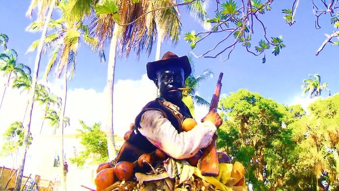 Nego Fugido e outras tradições baianas aparecem em 'Velho Chico' (Foto: TV Bahia)