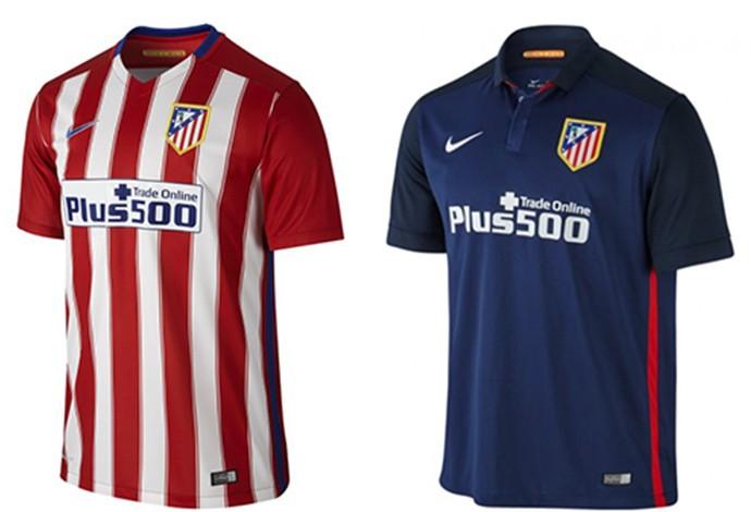 Camisas espanhol Atletico de Madrid