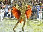Paloma Bernardi volta em desfile da Grande Rio na Sapucaí
