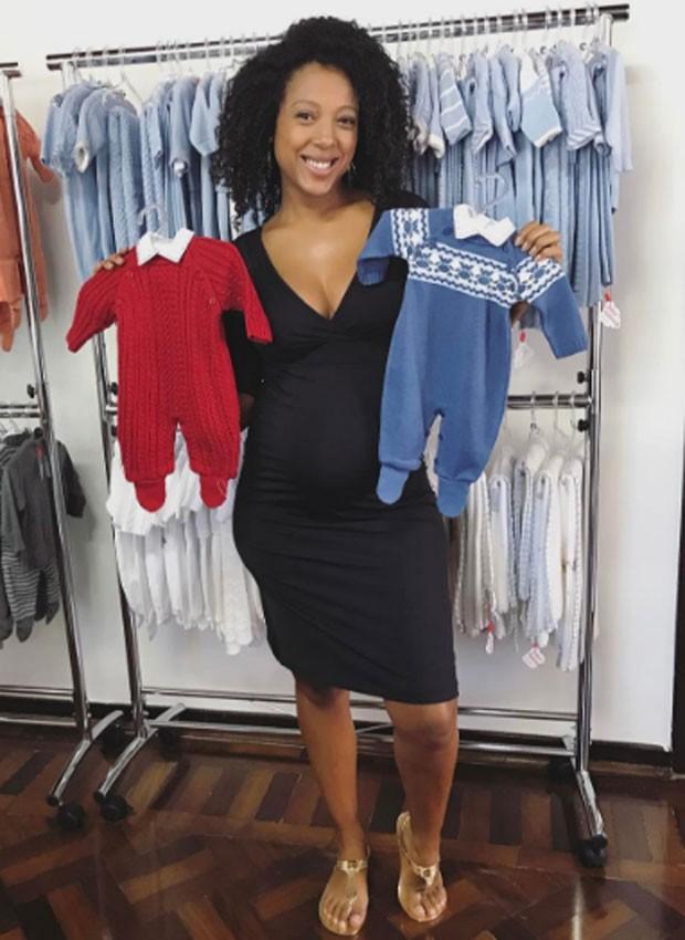 Negra Li prepara o enxoval de Noah Malik, seu segundo filho (Foto: Reprodução/Instagram)