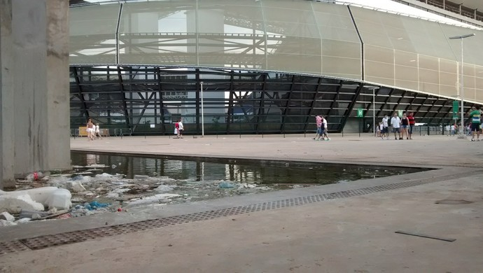 Arena Pantanal 18 de maio de 2014 (Foto: Robson Boamorte)