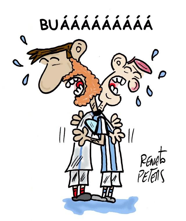 BLOG: Inglaterra e Argentina unidas...