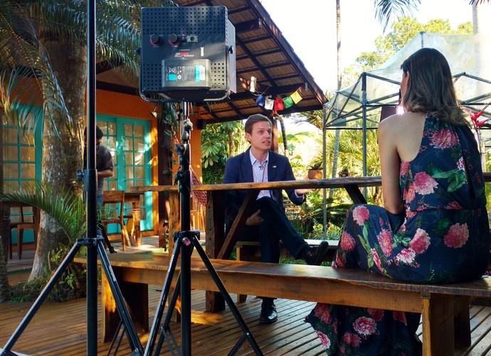 Mistura vai falar sobre o estresse e como combatê-lo  (Foto: RBS TV/Divulgação )