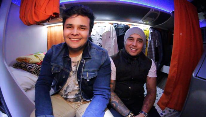Matheus e Kauan estarão no Estação Anhanguera (Foto: TV Anhanguera)