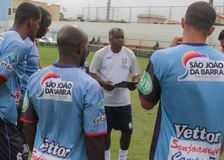 Andrade, técnico do São João da Barra (Foto: Paulo Pinheiro-SECOM SJB)