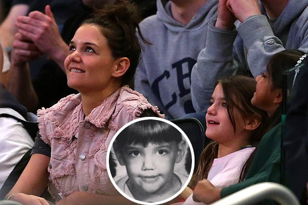 Katie Holmes e Suri Cruise (Foto: Getty Images / Instagram)