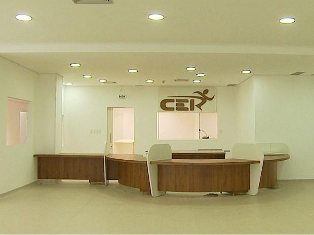 Ambulatório e centro de reabilitação devem ser entregues em abril (Foto: Antonio Luiz/EPTV)