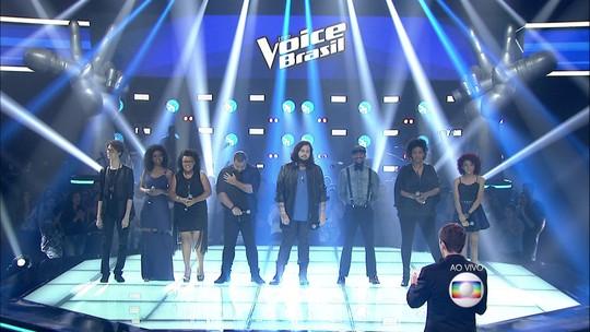 Tori Huang se classifica para shows ao vivo do 'The Voice Brasil'