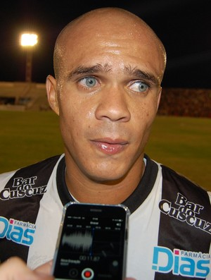 Ítalo, zagueiro do Treze (Foto: Silas Batista / GloboEsporte.com)