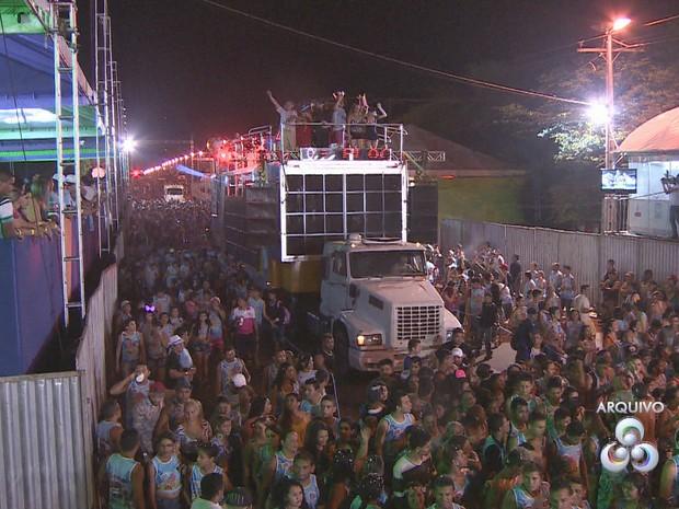 Blocos de Santana realizam micaretas no Carnaval, Macapá, Amapá,  (Foto: Rede Amazônica/Reprodução)