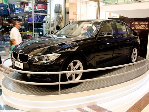 O Shopping Morumbi, na Zona Sul de São Paulo, vai sortear 6 automóveis BMW 320i. (Foto: Divulgação)
