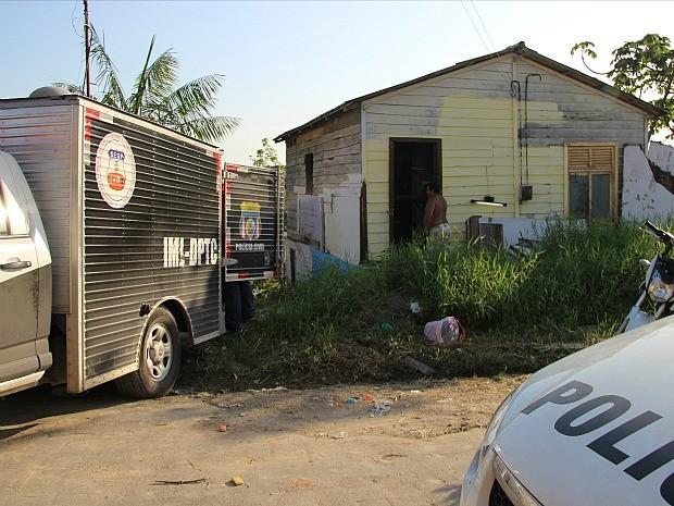 Crime ocorreu na tarde deste domingo (24) (Foto: Suelen Gonçalves/G1 AM)