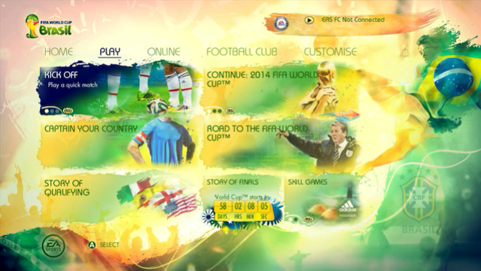Copa do Mundo Fifa 2014: como fazer as novas comemorações do jogo (Foto: Reprodução/Murilo Molina)) (Foto: Copa do Mundo Fifa 2014: como fazer as novas comemorações do jogo (Foto: Reprodução/Murilo Molina)))