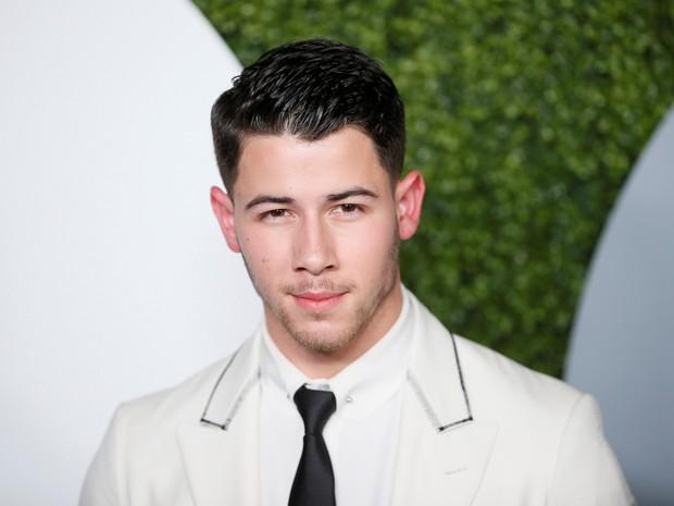 Nick Jonas em evento em Los Angeles, nos Estados Unidos (Foto: Danny Moloshok/ Reuters)