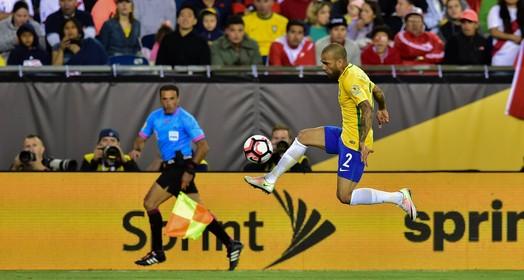 100%  brasil (Divulgação Copa América)
