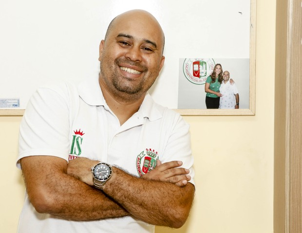 Dudu Azevedo, diretor de carnaval da Grande Rio (Foto: Anderson Barros/EGO)