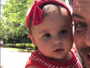 Luigi Baricelli posta vídeo fofíssimo de dia a dia com a neta, Helena