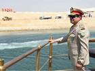 Egito inaugura segunda via no canal de Suez para estimular economia
