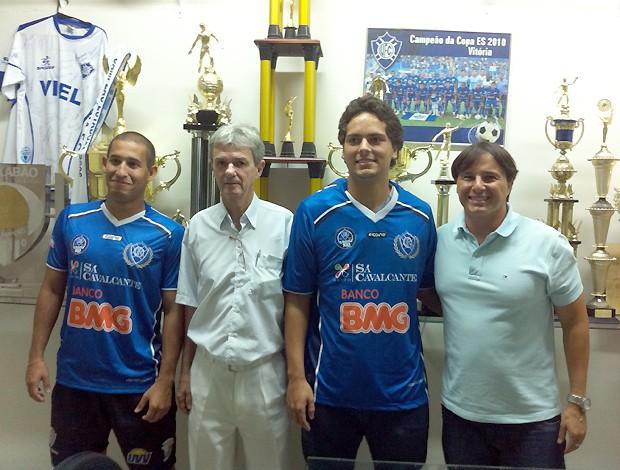 Vitória-ES se une ao Vitória 7 e monta equipe de futebol society (Foto: Divulgação/Vitória 7)