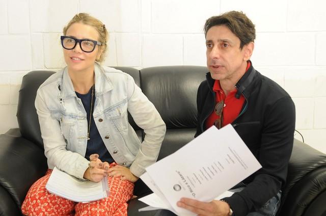 Christine Fernandes e Cassio Scapin (Foto: Munir Chatack/ Record)