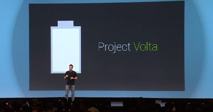 Project Volta promete reduzir o consumo de bateria no Android L (Foto: Reprodução/Google)