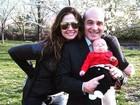 Luciana Gimenez comemora aniversário de casamento