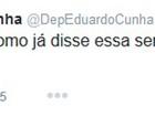 No Twitter, Eduardo Cunha diz ser 'totalmente contra' a volta da CPMF