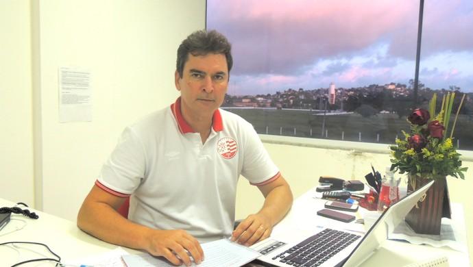 Alexandre Faria Náutico (Foto: Rômulo Alcoforado)
