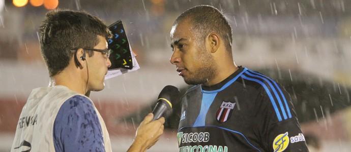 João Lucas, goleiro do Botafogo-SP (Foto: Rogério Moroti/Ag. Botafogo)