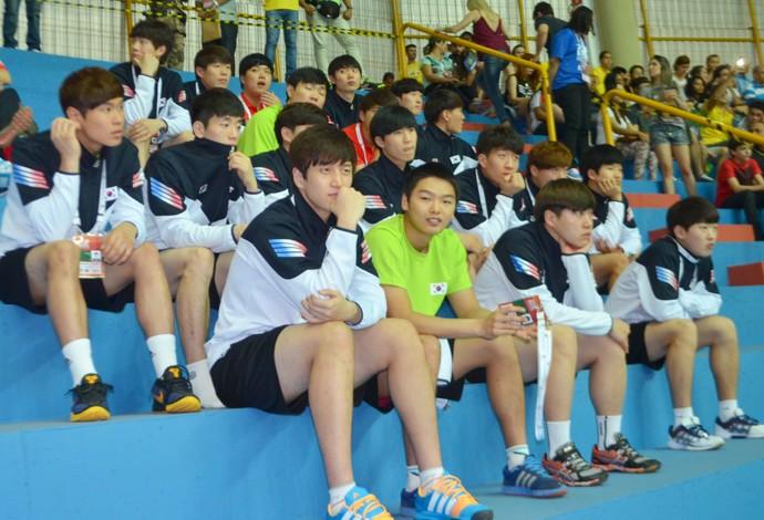 Coreia do Sul Mundial Handebol Júnior 2015 (Foto: Alex Rocha)