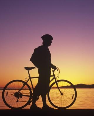 euatleta ciclismo ciclista praia (Foto: Getty Images)