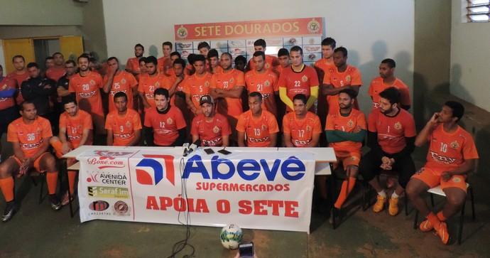 Elenco do Sete cobra investimentos de empresariado de Dourados (Foto: Renato Giansante/Sete)