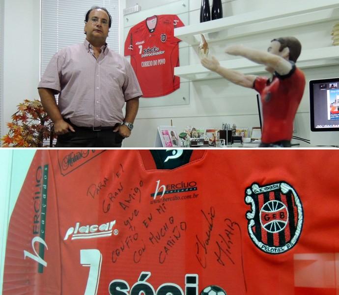 claudio milar brasil de pelotas especial doutor andré guerreiro (Foto: Lucas Rizzatti/Globoesporte.com)