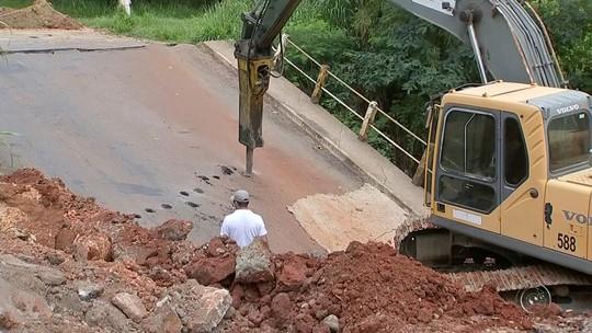 Tatuí tem seis pontes interditadas ou parcialmente bloqueadas