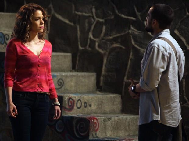 Será que Vicente já superou término com Cristina? (Foto: Pedro Curi/Gshow)