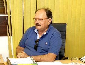 José Vanildo, presidente da Federação Norte-rio-grandense de Futebol (Foto: Reprodução/Inter TV Cabugi)
