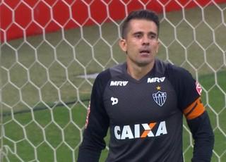 Victor; Atlético-MG (Foto: Reprodução/TV Globo)
